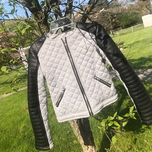 Kids B-Hip Grey and Black Jacket